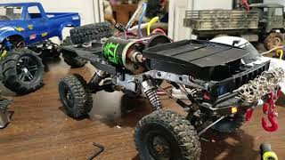 WPL crawler build 540 motor installed and tested!!! Its alive