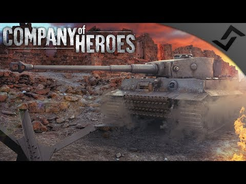 Tiger Ace in Stalingrad - Company of Heroes: Eastern Front - Soviets vs Germans