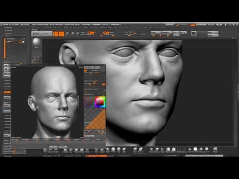 High frequency details using alphas in Zbrush Stream