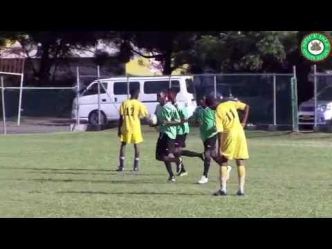 Republic Bank Right Start Youth Football Tournament 2016 BOCA vs Wesley College Highlights