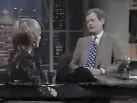 1993 NBC  Ellen Barkin Talks About Her Crush on Dave