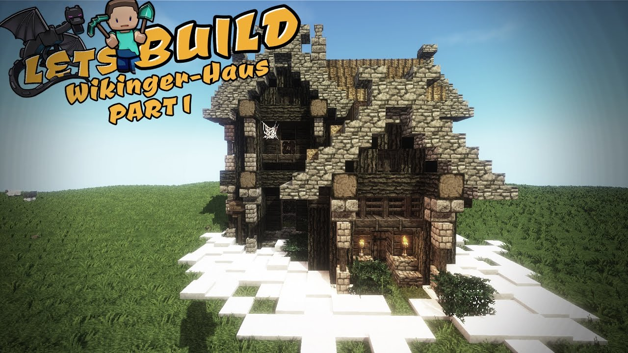 Nordisches haus bauen minecraft tutorial youtube for Nordisches haus bauen