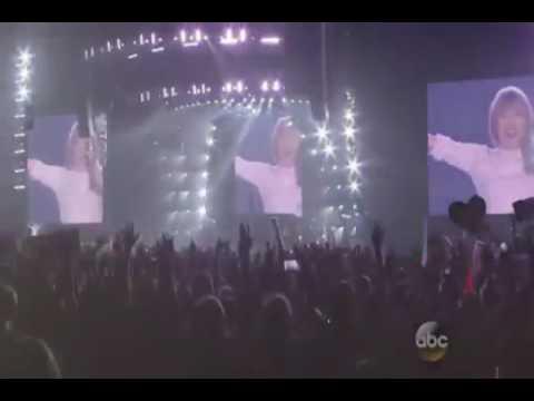 Taylor Swift AMAs 2014 honour video