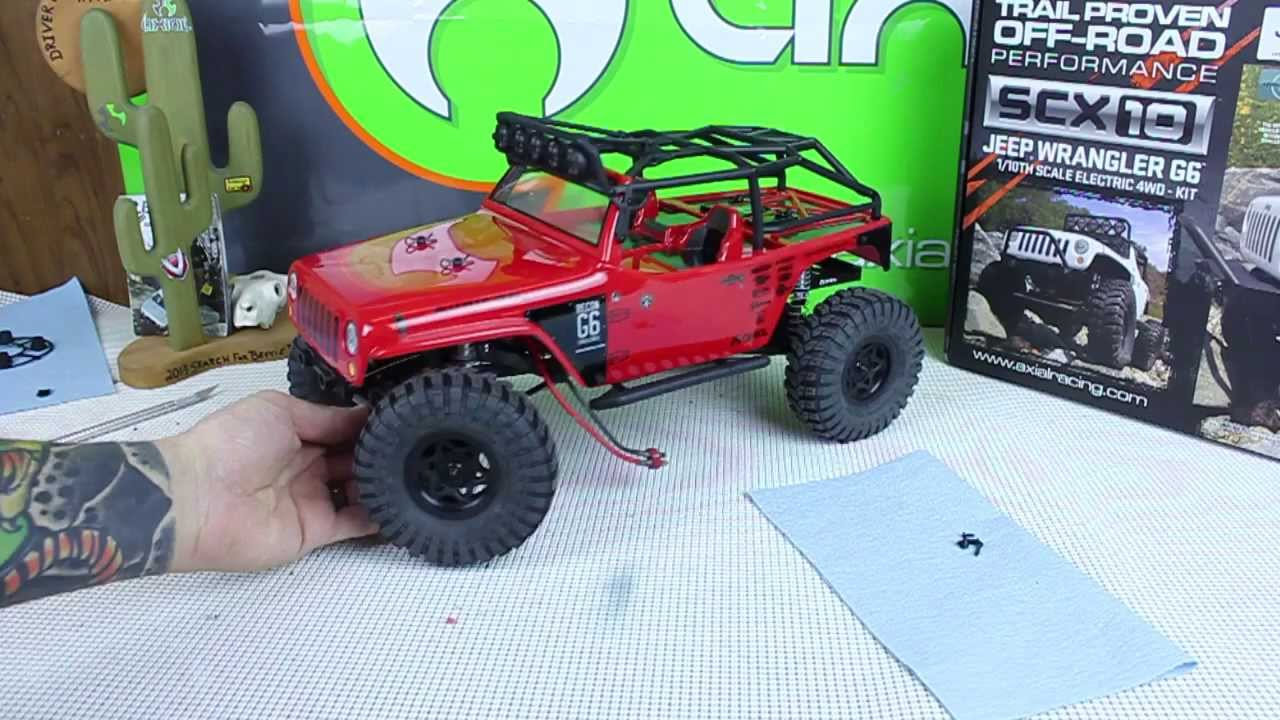 Jeep Wrangler Paint >> Axial SCX10 Jeep Wrangler G6 Body and Paint Part 2 - YouTube