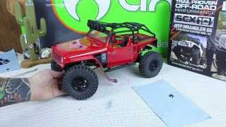 Axial Scx10 Jeep Wrangler G6 Body And Paint Part 2