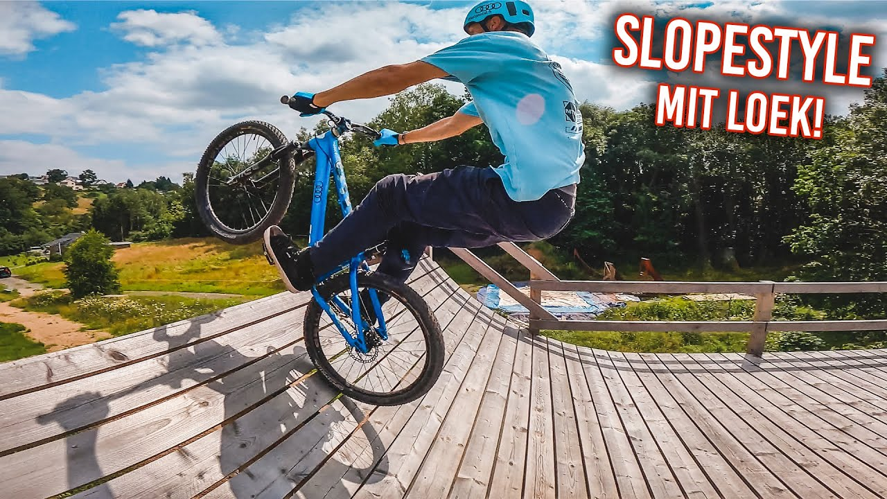 SLOPESTYLE SESSION mit Besuch aus HOLLAND!