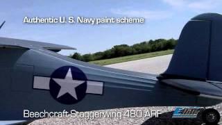 E-Flite Beechcraft Staggerwing 480 EFL6125