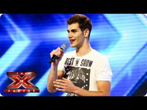 Alejandro sings Hero  Enrique Iglesias  Arena Auditions Week 1  The X Factor 2013