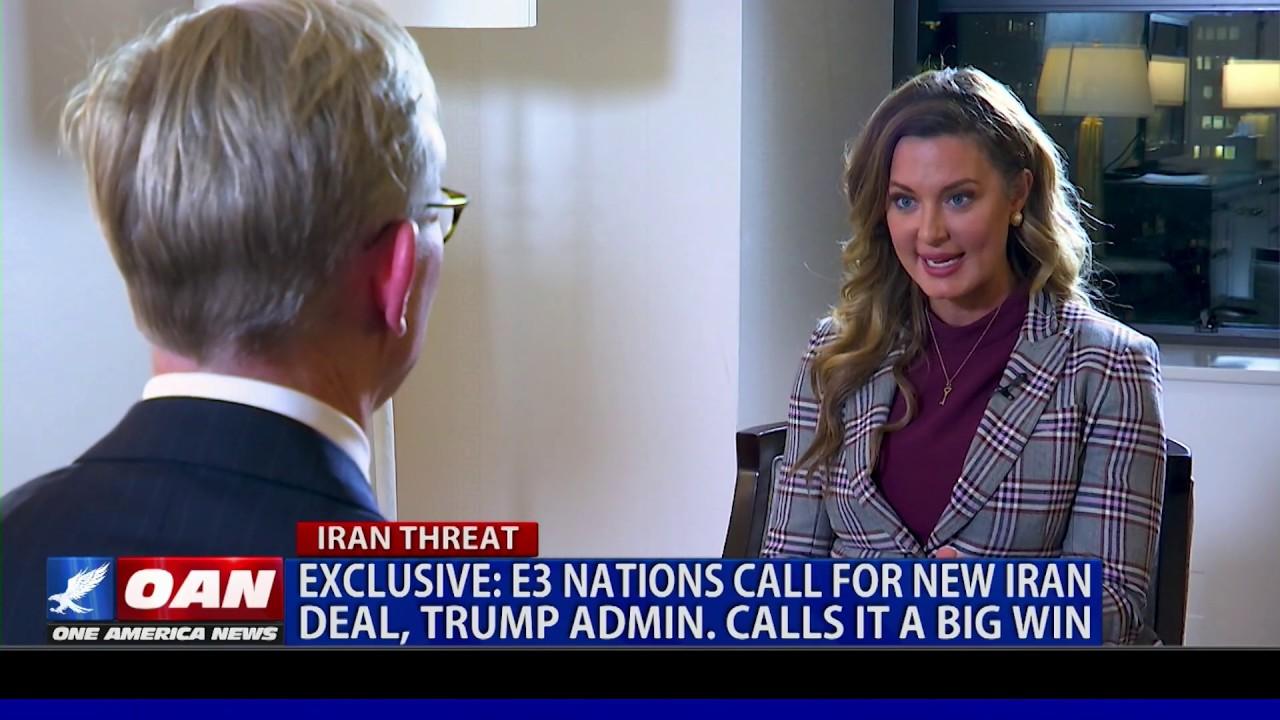 OAN Exclusive: E3 nations call for new Iran deal, Trump admin. calls it 'a big win'