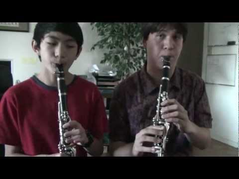 DOVAHKINN (Dragonborn) from Skyrim for Two Clarinets