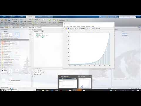 Real Exponential Signal in MATLAB
