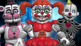 Five Nights at Freddy's: NEW MYSTERY BUILDABLE ANIMATRONIC AND SISTER LOCATION FIGURES AND MORE!