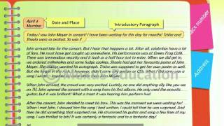 This animation teaches the learner to define a diary entry and create sample based on their learning. is product of mexus education pvt....