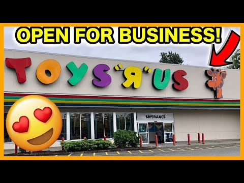 Peg Hunting - Toys R Us Is NOT CLOSED!