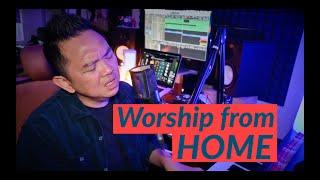 JUJUR/ DOA KAMI/ HOSANNA BE LIFTED HIGHER (Worship Medley) - Sidney Mohede (Home Session)