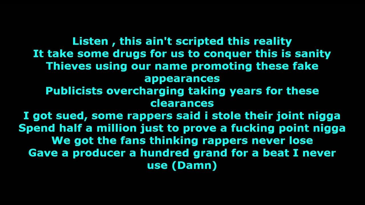rap game lyrics