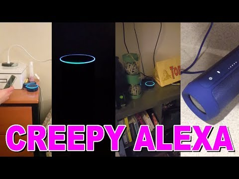 Alexa randomly laughing compilation