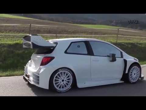 Test Tommi Makinen - Toyota Yaris - Octubre 2016 Catalunya