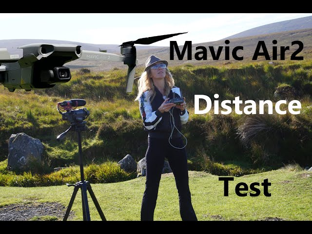 DJI Mavic Air 2 distance test (5km)