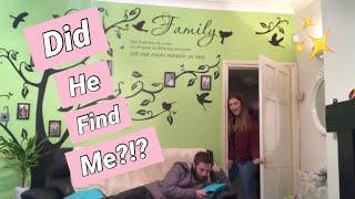 I SPENT THE NIGHT IN MY BOYFRIENDS HOUSE *He Had No Idea* | Katy Rebecca