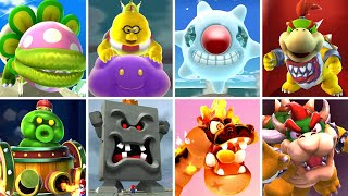 Super Mario Galaxy 2 HD - All Bosses + Cutscenes (No Damage)