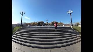 Прогулка по Мамаеву Кургану осенью 2021 года Волгоград, 4k, Полное Видео Исходник