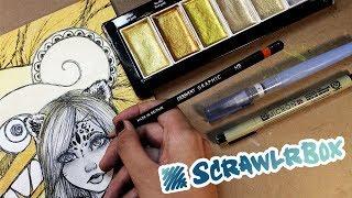 Dibujando con la caja misteriosa SCRAWLRBOX | Diana Díaz