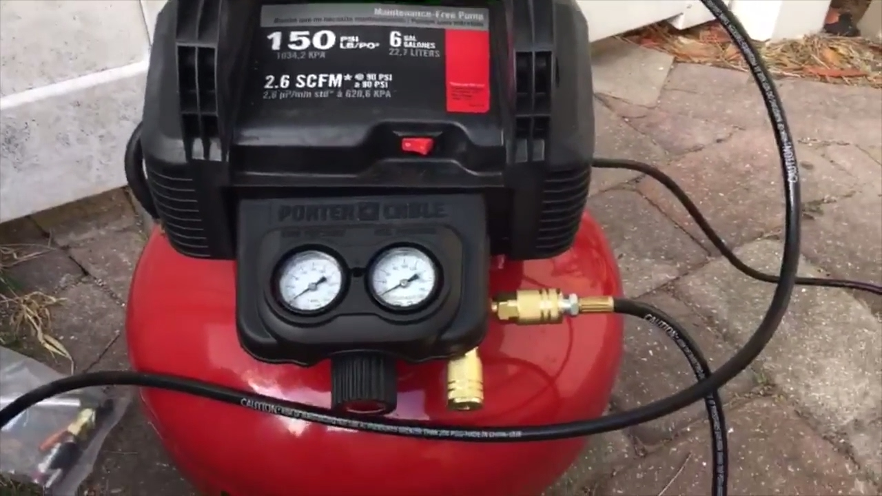 Porter Cable C2002 Air Compressor Review Youtube
