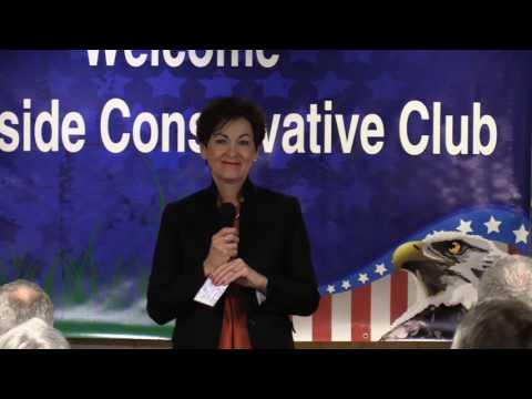Kim Reynolds at the Westside Conservatives Club