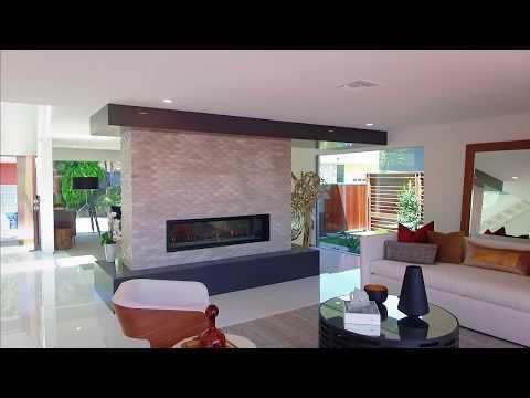 SLEEK MODERN - 7524 Devista Dr, Hollywood Hills Cinematic Property Tour