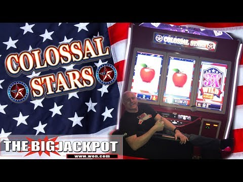 ✦ MAX BET! ✦The BIGGEST Slot Machine I Could Find! ⭐ Colossal Stars ⭐- The Big Jackpot - 동영상