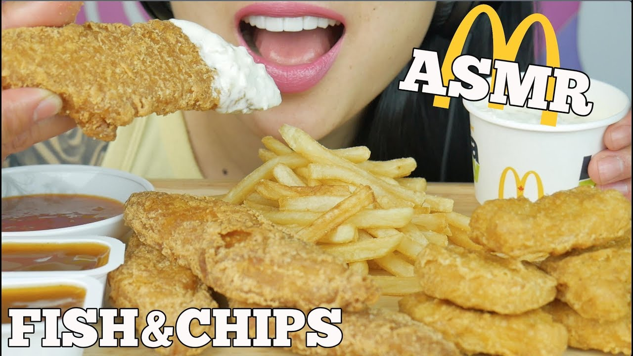 Asmr New Mcdonalds Fish Chips Chicken Nuggets Crunchy Eating Sounds Sas Asmr Youtube Remember, everyone has a different asmr triggers so i hope you enjoy the sounds on my channel. asmr new mcdonalds fish chips chicken nuggets crunchy eating sounds sas asmr