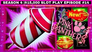 NEW  PINK PANTHER Mystical Fortunes Slot Machine Bonus | Season 4 | EPISODE #16