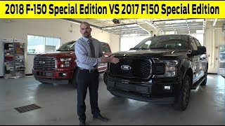 2018 Ford F 150 XLT Special Edition VS 2017 Ford F 150 XLT Special Edition