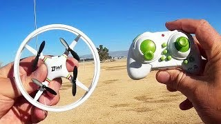 Dowellin DWI D1 Micro Learn to Fly Drone Flight Test Review