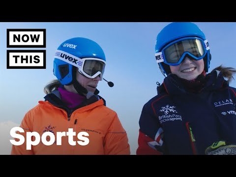 Menna Is A Champion Skier — And She's Almost Completely Blind   Start Your Impossible   NowThis
