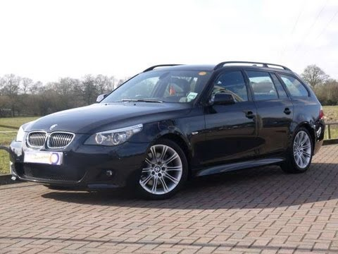 BMW I MSport Touring Auto Black For Sale In Hampshire - 2010 bmw 530i