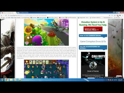Solvettube com Plants VS Zombies Game Of The Year Edition |