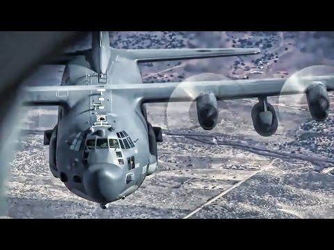 Inflight Refueling • KC-135 Stratotanker To MC-130 Hercules