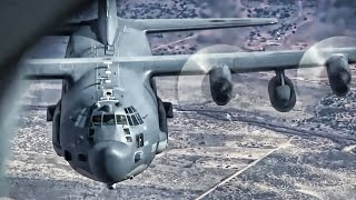 Inflight Refueling • KC-135 Stratotanker To MC-130 Hercules