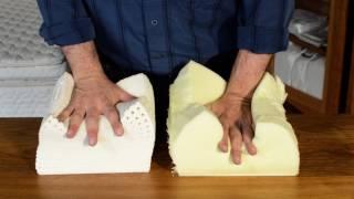 видео memory foam mattress