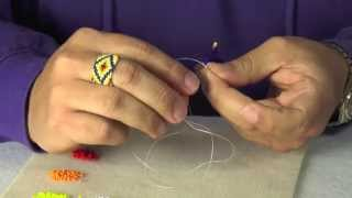 How To: Simple Loop Beaded Earring