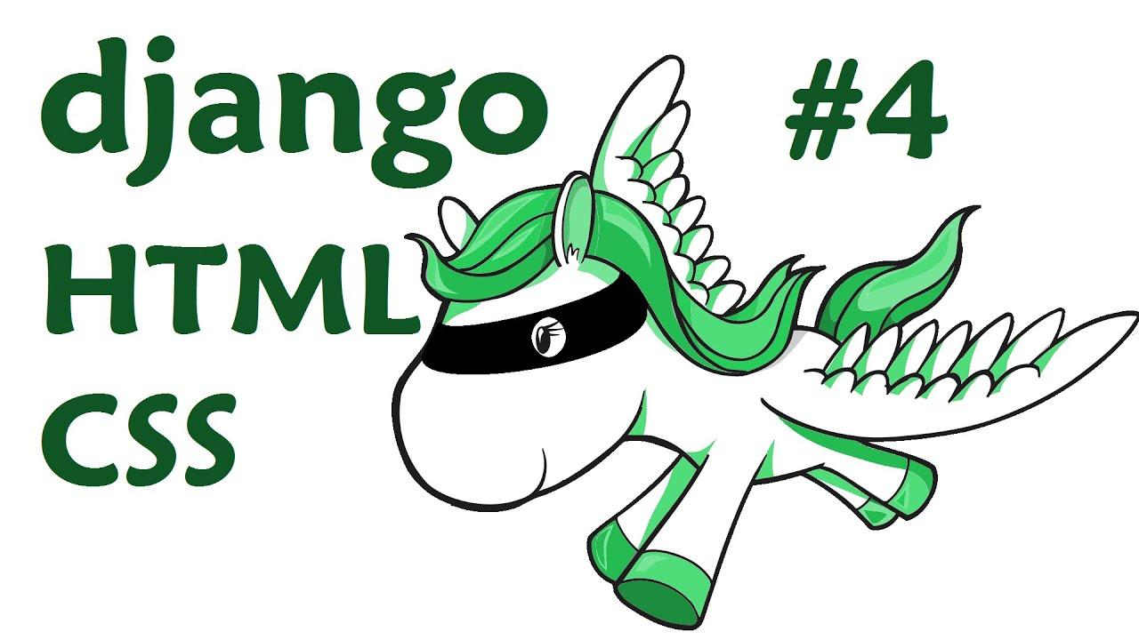 Bootstrap HTML CSS - Django Web Development with Python 4 - YouTube