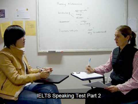 IELTS Speaking Test Part 1 @ Meridian International School Sydney