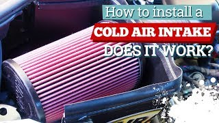 Install a Cold Air Intake - Does it Really Work? | Gearhead Diva