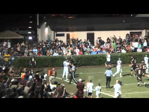 2014 WR Blake Bone Woodruff HS, SC Game Highlights vs Union County 92812