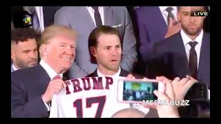 Trump Hosts World Series Champions Houston Astros at the White House 3/12/18