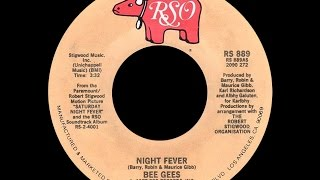 Bee Gees ~ Night Fever 1977 Disco Purrfection Version