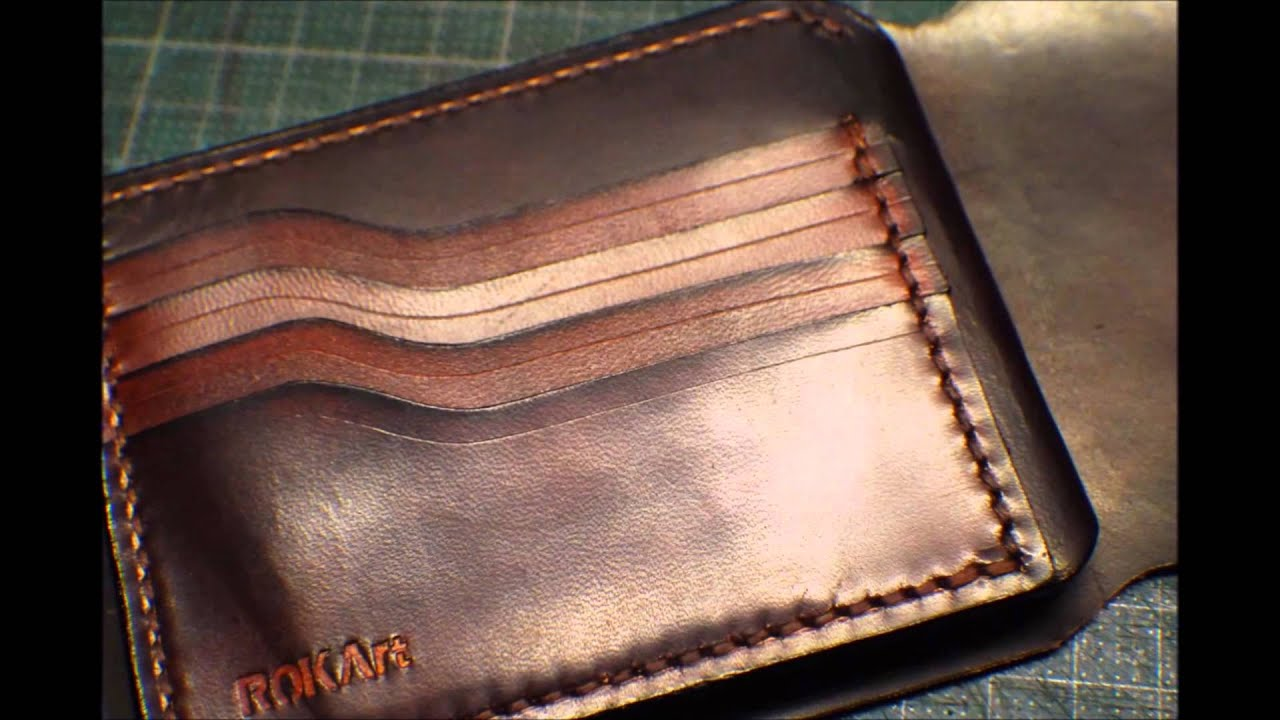 Handmade Portemonnaie_Leather Wallet