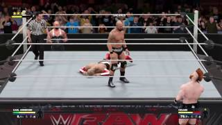 WWE 2K17 Karl Anderson Signature and Finisher